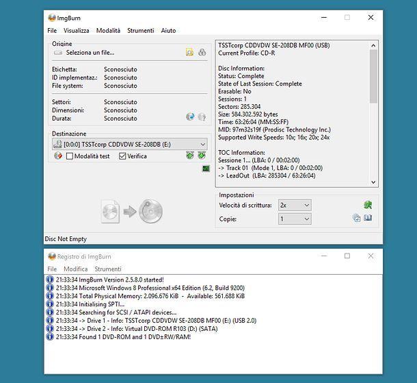 Come aprire file ISO su PC