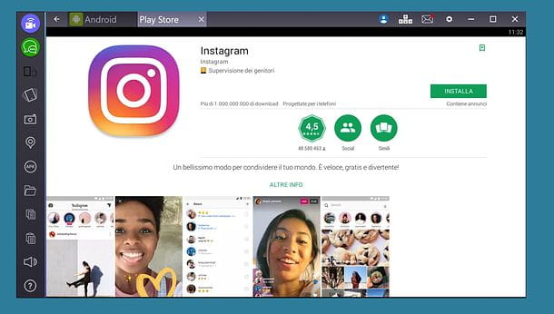 Instagram per PC