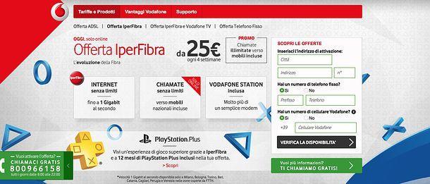 Vodafone telefono fisso
