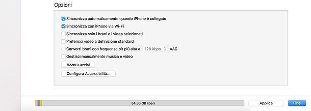 Come sincronizzare iPhone con Mac