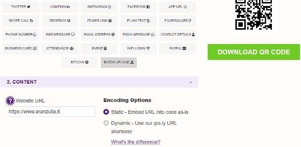 Come generare un QR code gratis