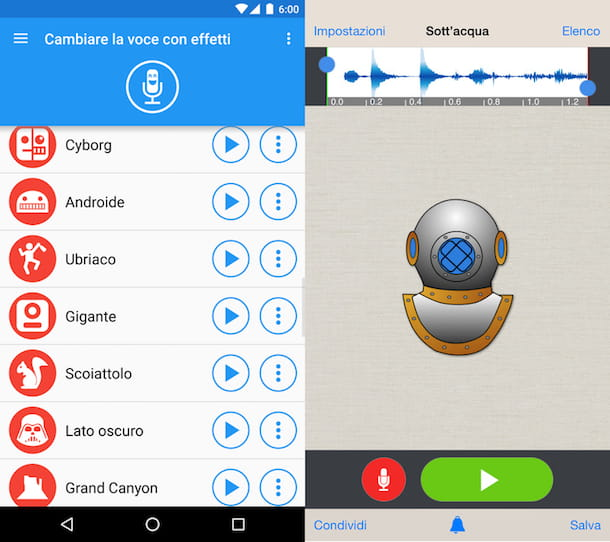 App per cambiare la voce