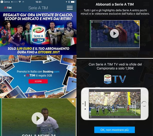 Partite in streaming