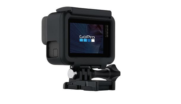 Foto dello schermo di una GoPro
