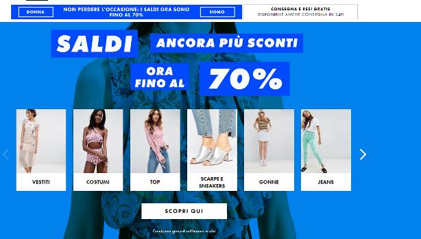 224f04b9b86ee6 ASOS è un popolare negozio di abbigliamento online di moda per uomo e donna  che si caratterizza per la trasparenza delle sue condizioni di vendita.