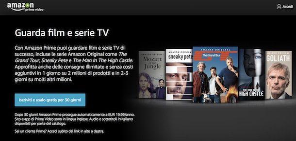 Come vedere serie TV online