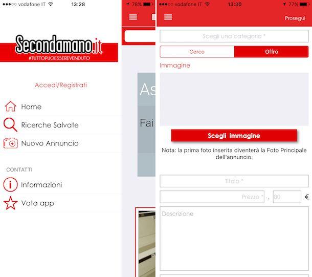 App per vendere