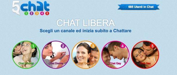 Chat gratis italiana senza registrazione