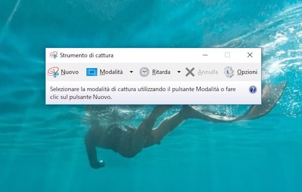 Come fare screenshot su Windows 10