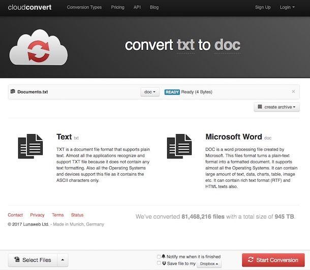 Come convertire in Word
