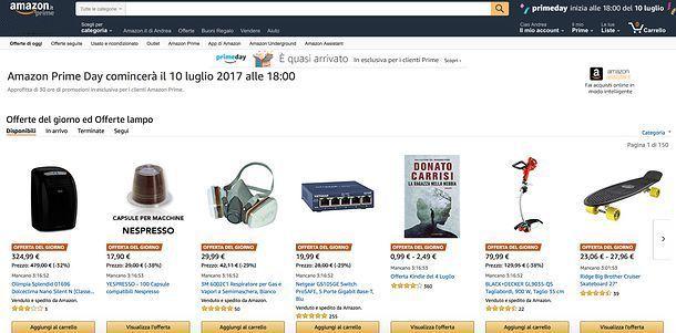 a64366282782c1 Amazon Prime Day: migliori offerte | Salvatore Aranzulla