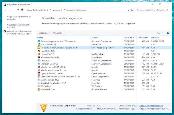 Come pulire disco Windows 10