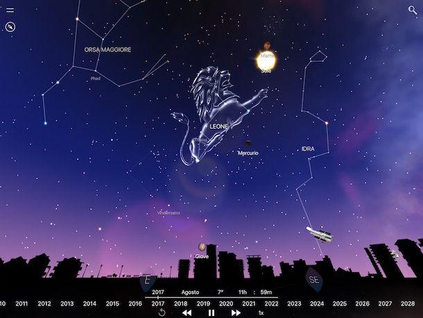 mappe stellari gratis