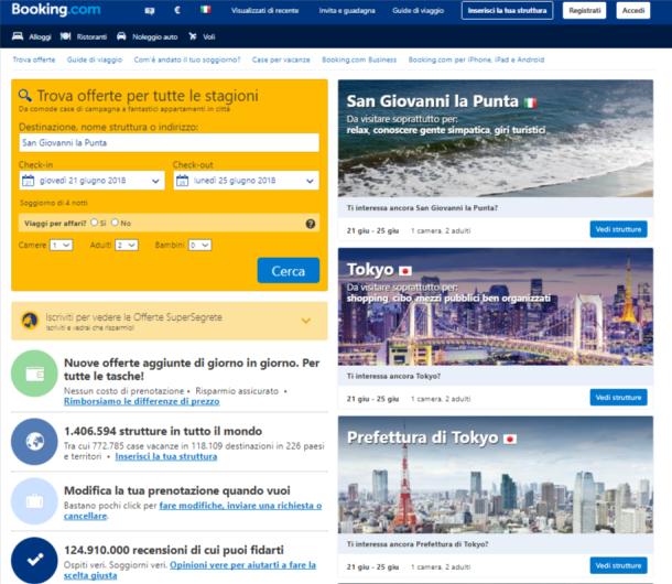 siti di ricerca vacanze
