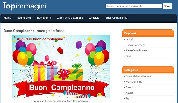 Favori Immagini di buon compleanno da scaricare gratis | Salvatore Aranzulla WG28
