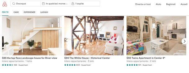 siti per case vacanze