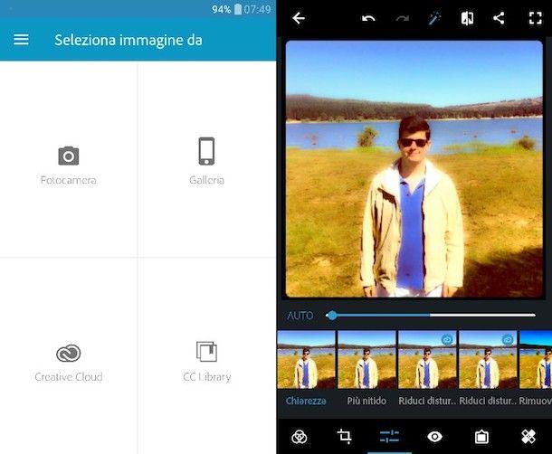 App per modificare gli sfondi delle foto