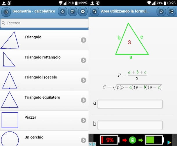 app per risolvere i problemi di geometria salvatore