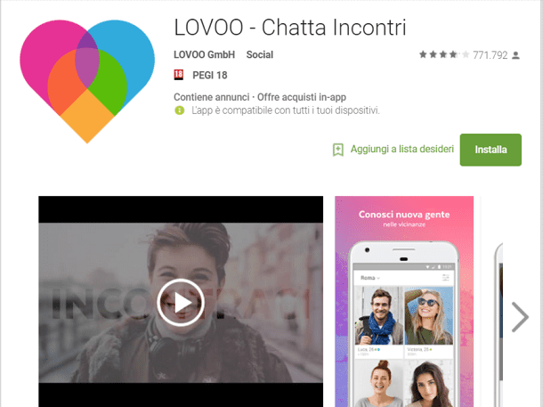 scaricare app dating per Android