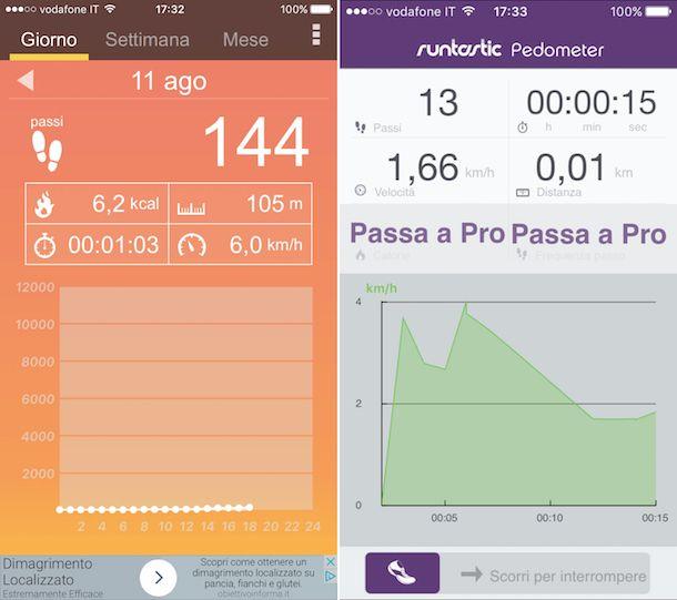 App per camminare