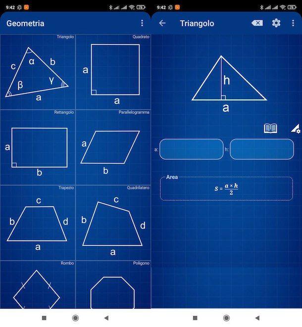 Geometria Calculator