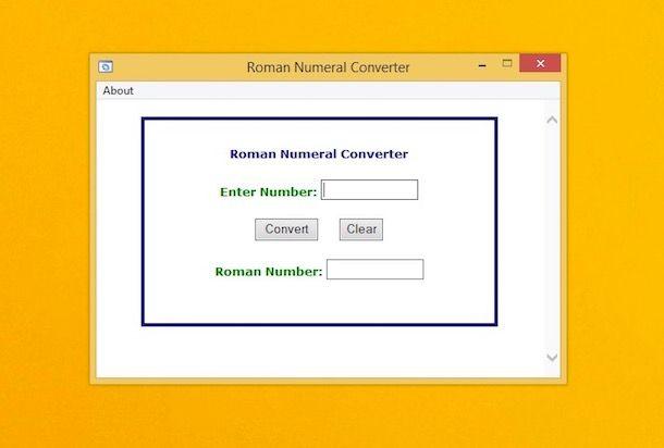Come convertire numeri romani