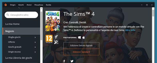 Come scaricare The Sims