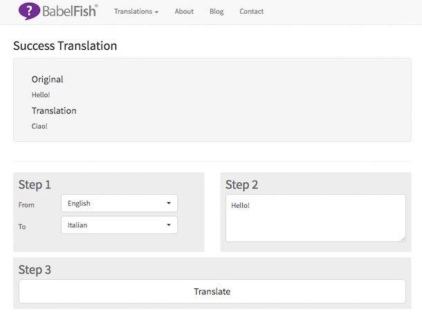 Miglior traduttore online