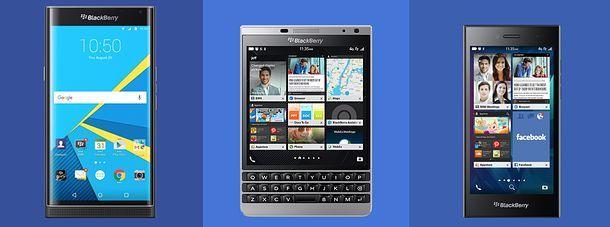 Quale BlackBerry scegliere