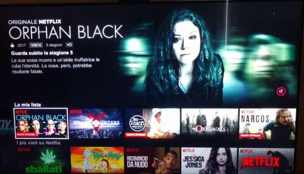 Netflix collegamento