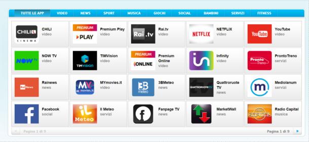 come installare app su smart tv toshiba