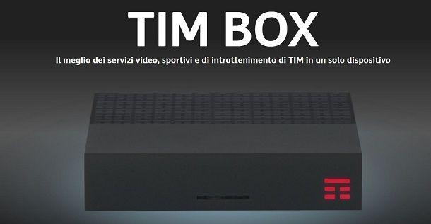 Come usare TIMvision da decoder TIMvision