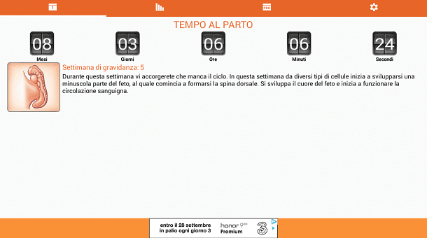 Calendario Delle Settimane Di Gravidanza.App Per Gravidanza Salvatore Aranzulla