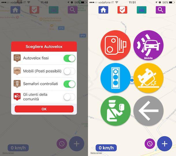 App per autovelox