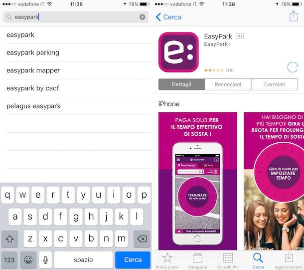 Come funziona EasyPark