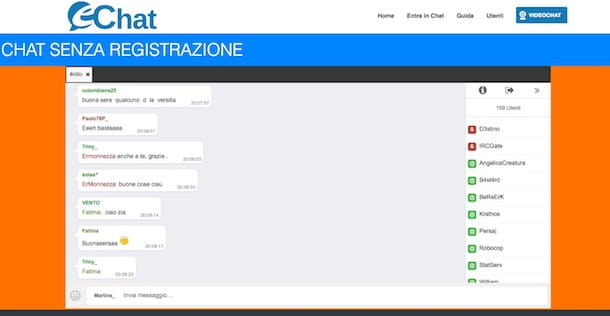 you porn video chat gratuita senza registrazione italiana
