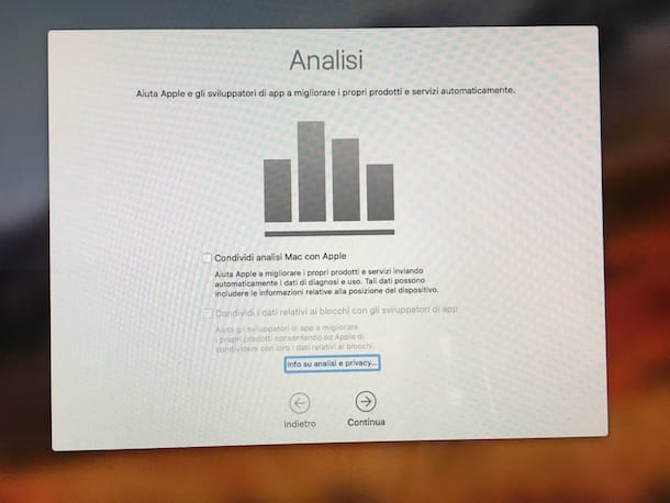 Come installare macOS High Sierra