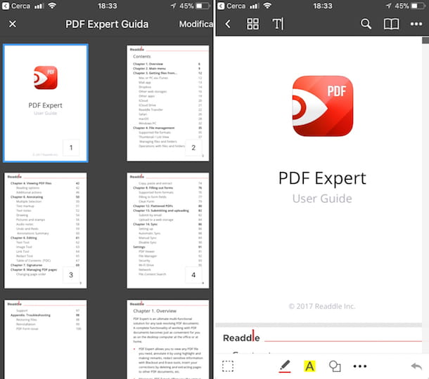 App per aprire PDF