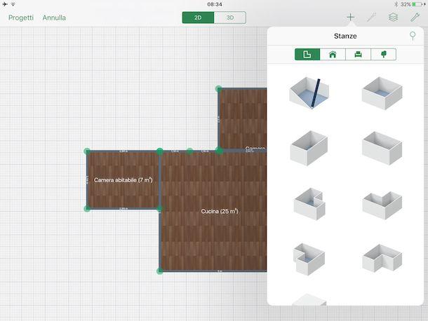 App per progettare casa salvatore aranzulla for Disegnare piantina casa gratis