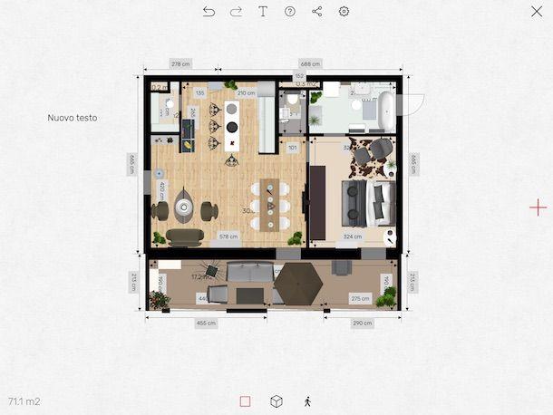 App per progettare casa salvatore aranzulla for Disegnare una stanza in 3d