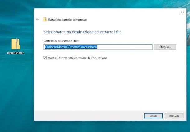 Come fare uno screenshot con Windows