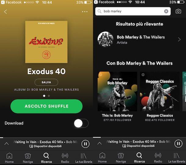 MUSICA SPOTIFY SENZA WIFI SCARICA