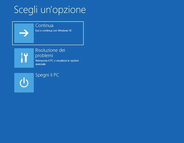 Come avviare Windows 10 in modalità provvisoria