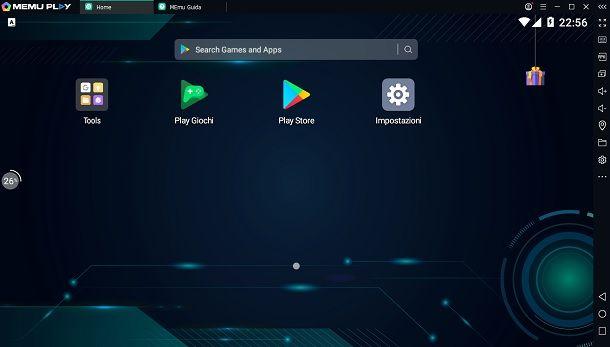 MeMU Emulatore Android