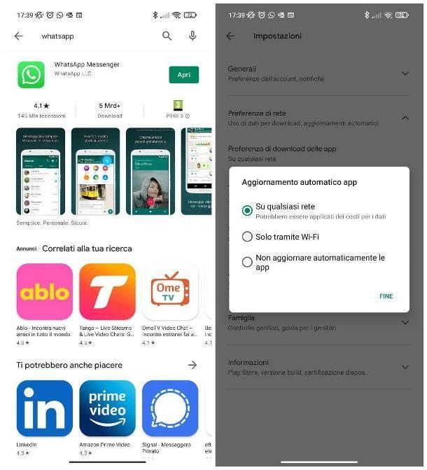 Come aggiornare versione WhatsApp scaduta su Android