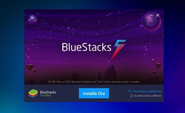 Come installare BlueStacks 5 Windows