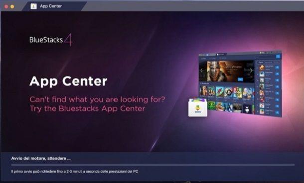 Miglior emulatore Android per Mac BlueStacks 4