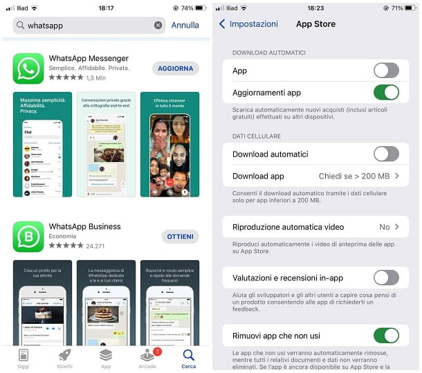 Come aggiornare WhatsApp scaduto su iPhone