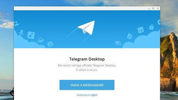 Come si usa Telegram su PC