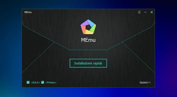 Come installare MEmu su Windows